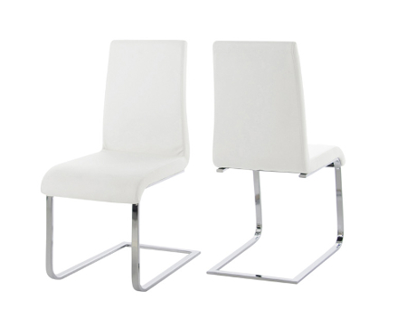 Scandinavia Furniture Metairie New Orleans Louisiana Offers Contemporary U0026  Modern Furniture For Your Living Room   MADDOX WHITE DINING CHAIR ...