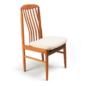 Scandinavia Furniture Metairie New Orleans Louisiana Offers Contemporary U0026  Modern Furniture For Your Living Room   SUN   BL10 TEAK DINING SIDE CHAIR  ...