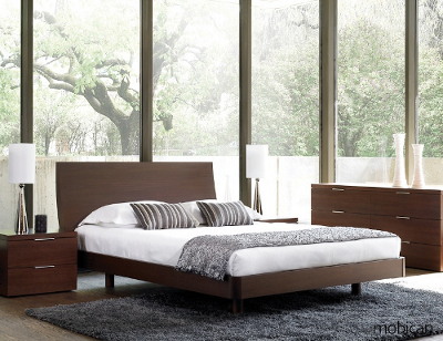 Merveilleux Scandinavia Furniture Metairie New Orleans Louisiana Offers Contemporary U0026 Modern  Furniture For Your Living Room   MOBICAN   SENECA ESPRESSO PLATFORM BED ...