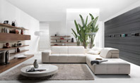 Natuzzi - Surround Leather Sectional