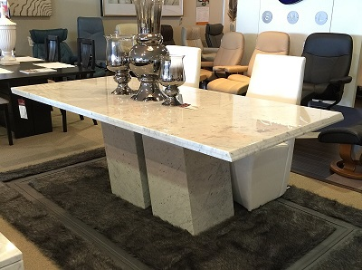 Ermes Marble Dining Table